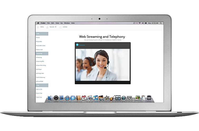 web video call