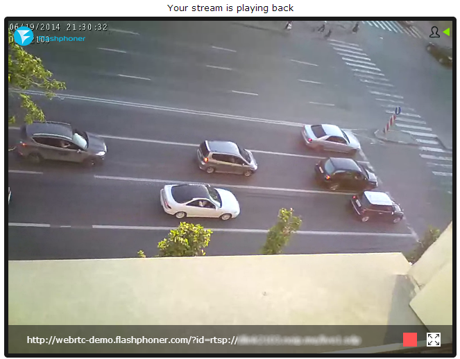 WebRTC Online Broadcasting from IP-Cameras and Video