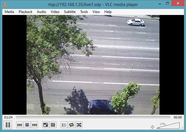 WebRTC Online Broadcasting from IP-Cameras and Video Surveillance