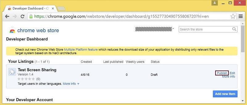 clicking-publish-button-in-chrome