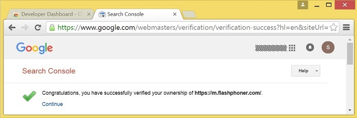 in-line-install-verification-successful