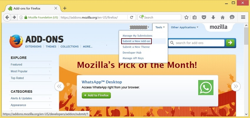 publishing-extension-Mozilla-Add-ons