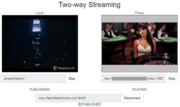Two-way-Streaming