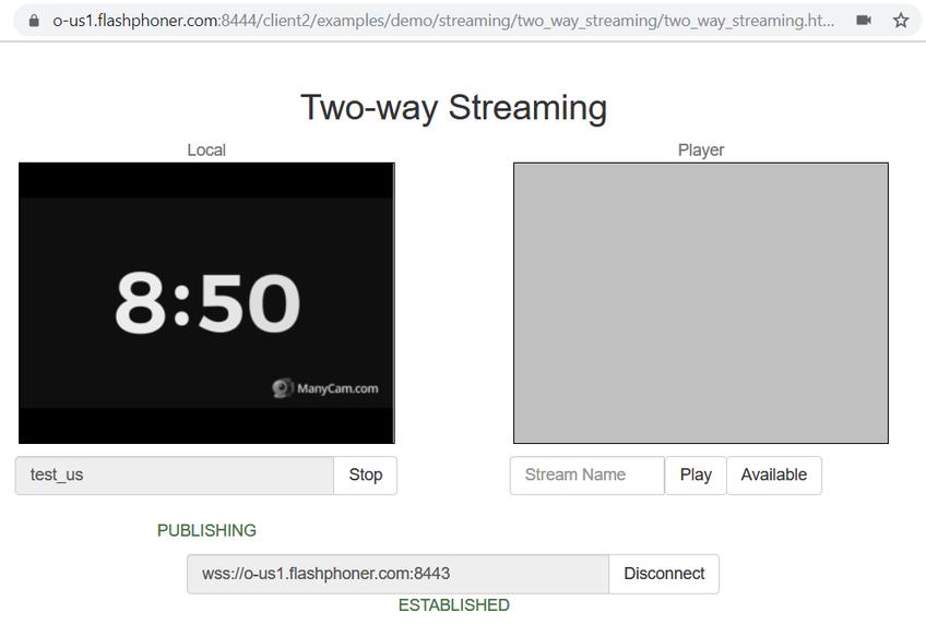 Dynamic CDN for Low Latency WebRTC Streaming Publish stream to US Origin