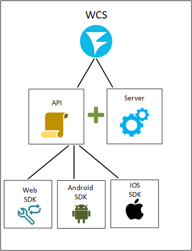 javascript_sdk_server_WebRTC_Android_iOS_SDK_API_WCS_browser_RTMP_RTSP_VOD_SIP_RTP