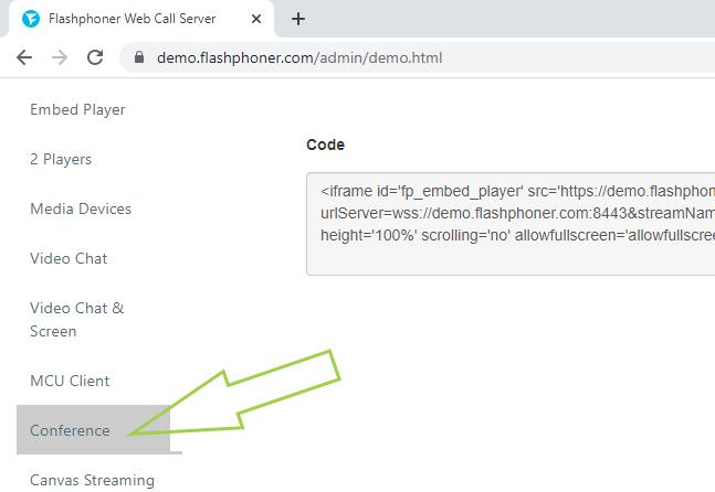 choose_conference_WebRTC_RoomAPI_WebSocket_WCS
