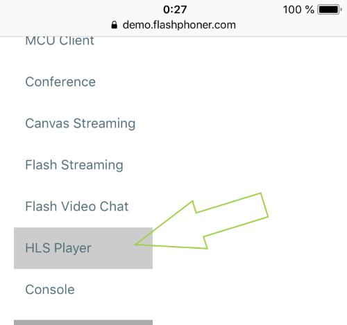 open_HLS_player_Safari_iOS_WebRTC_to_HLS_Playback_RTMP_RTMFP_WebRTC_SIP