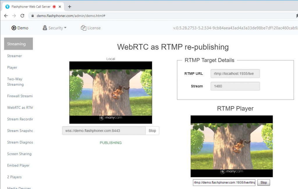 playing_WEBRTC_RTMP_republishing_WCS