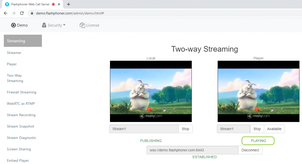 playing_two-way_streaming_stream_webcam_WebRTC_browser_WCS