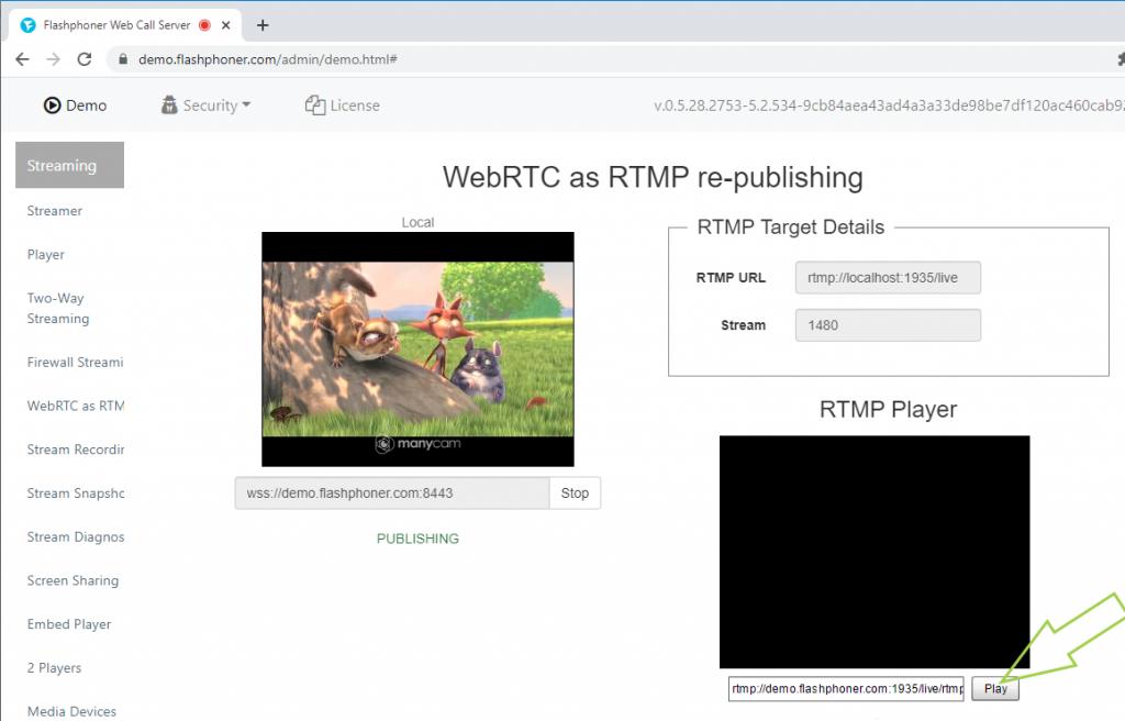 press_play_WEBRTC_RTMP_republishing_WCS