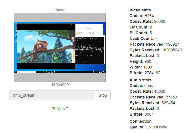 Cable_Output_windows_play_stream_ffmpeg_screensharing_WebRTC_RTMP_WCS_bitrate_codec_framerate_video_audio_stream