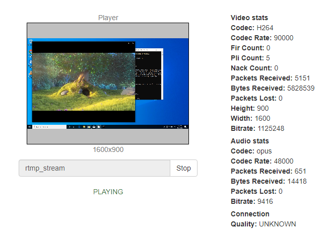 stereo_mixer_windows_play_stream_ffmpeg_screensharing_WebRTC_RTMP_WCS_bitrate_codec_framerate_video_audio_stream